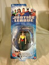 2003-JUSTICE LEAGUE-HAWKGIRL-EARLY RELEASE FIGURE-MISP-LANTERN SYMBOL On BACK !!