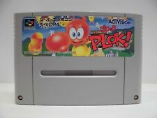 SNES -- PLOK! -- Super famicom, Japan game, work fully!! 13764
