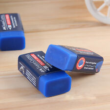 2pcs Blue Faber Castell Rubber Drawing Eraser Colored Pencils Graphic Sketch Art