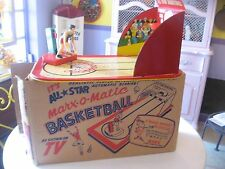 "*** SALE *** Marx  Vintage ***ALL STAR BASKETBALL"" With Box  WOW!!!"