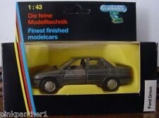 Ford  ORION  by SCHABAK Germany Car Model Diecast Metal scale 1/43  Mint  in Box