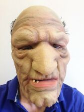 Old Man Mask Wrinkley Bad Grandpa Fancy Dress Stag Party