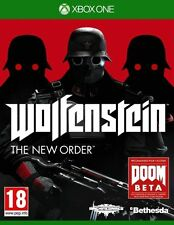 Wolfenstein The New Order GAME Microsoft Xbox One XB 1 XB1 XB3