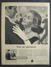 1950s advert for Swiss watchmakers Federation watches dance advertising ephemera