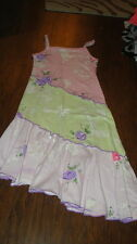 BOUTIQUE INDYGO  GIRLS 5 LONG FLORAL DRESS SISTERS