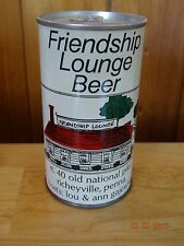 Friendship Lounge Beer Can - August Schell - New Ulm Mn