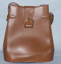 Authentic Vintage Lancel Elsa Leather Bucket Bag Paris France