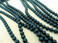 100 Petrol Swarovski Crystal Beads Pearls 5810 4mm