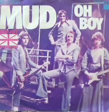 """7"""" 1975 GLAM CV BUDDY HOLLY IN MINT- ! MUD : Oh Boy"""