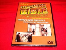 Awesome Bible Adventures: Samson/Tower Of Babel  (DVD) New.