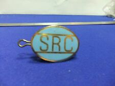 vtg badge src cap uniform badge transport corporation bus train conductor tram ?
