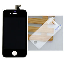 Front Touch Screen Glass Lens Digitizer LCD Display Assembly For iPhone 4S Black
