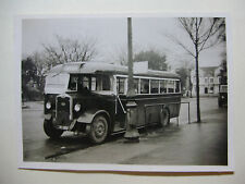 WALES132 - 1940s RED & WHITE MOTOR SERVICES Ltd - BUS PHOTO Wales