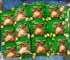 12  packets -  -Bru - Instant Coffee Pouch     -Makes 12 Cups- FREE SHIPPING