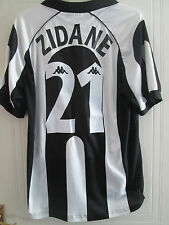 Zidane 21 1997-1998 Juventus Home Football Shirt Tamaño Extra Grande Xl / 39485
