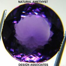 AFRICAN AMETHYST ROUND CUT 15  MM ALL NATURAL