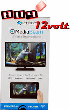 Ematic MDB012 MediaBeam Universal HDMI Streaming Stick Media Player