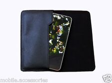 Premium Quality PU Leather Pouch Cover Case for Micromax Canvas A1 AQ4502 - PB