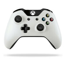 Microsoft Wireless Controller Xbox One, One S & Windows 10 with 3.5mm Jack White