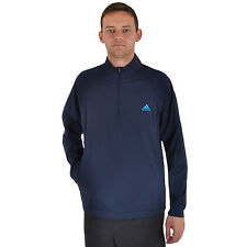 adidas Performance Mens Climaproof Stretch Long Sleeve Golf Wind Jacket Navy - L