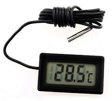In car Digital LCD Indoor Temperature Humidity Meter Thermometer gauge