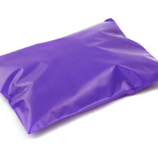 500 12X15.5 Purple Poly Bags POOR SIDE SEAMS Plastic Shipping Mailers Envelopes