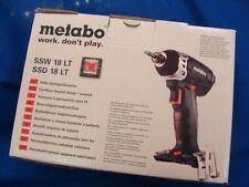 Metabo 60219685 Akku-Schlagschrauber SSD 18LT Ohne Akku + LadeGerät