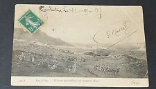 CPA CARTE POSTALE 1907 ALGERIE COLONIES FRANCE AFRIQUE ARMEE PART D'ORAN 1835