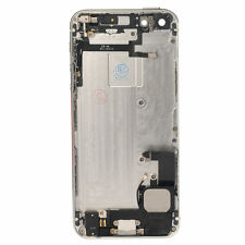 White Complete Housing Back Battery Door Cover & Mid Frame Assembly For iPhone 5