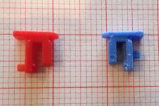 2 Schaltreiter Rot und Blau.Steckreiter Für Wand Heizung Steuerung z.B.EBERLE