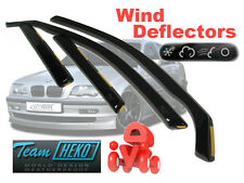BMW 3 E46 1998-2006 Saloon Wind Deflectors 4 pcs HEKO (11121)