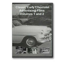 Vintage 30s-50's Chevy Promo Films Complete 4 DVD Set - A29-32