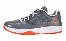 Nike Jordan Blazin Mens 509308-008 Grey Orange Low Basketball Shoes Size 9