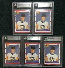 (5) 1990-91 Score #428 Jaromir Jagr RC BGS Mint 9 Lot of 5 Penguins