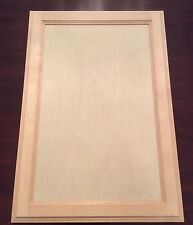 """Natural Birch Flush Panel 17 X 25"""" Unfinished Cabinet Door (Stain Grade) A Grade"""