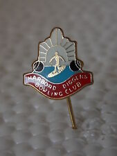 Vintage Antique Collectable Retro Lawn Bowl Pin HARBORD DIGGERS BOWLING CLUB