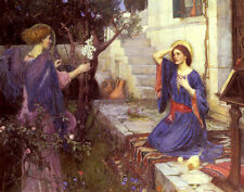 Waterhouse Willaim John The Annunciation Print 11 x 14   # 3606