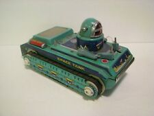 Vintage Tin Space Tank  Toy Vehicle   Battery Operated made china