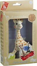 Sophie the Giraffe La Baby Teether Pacifier Squeaking Toy