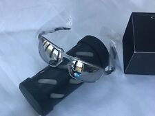 NEW Oakley BADMAN X Ti Chrome Iridium Polarized Sunglasses OO6020-05