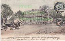 Carte postale : Charleville perspectives de la Route Nationale  datée 1904