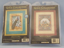 Dimensions Gold Collection Petites Lot Of 2 CHARTS ONLY #6870 #6738