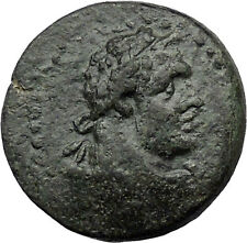 Sardes in Asia Minor 133BC Ancient Greek Coin Nude Apollo Young Hercules i31470