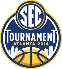 2 SEC BASKETBALL TOURNAMENT TICKETS Atlanta 2014, session 3