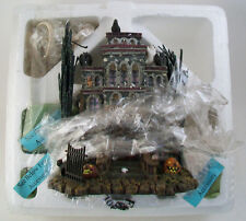 NIB Hawthorne Village Munsters GRANDPA'S TOUCH OF TRANSYLVANIA HOTEL Hallowen