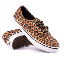 VANS Size UK 5 / EU 38 Authentic Leopard Canvas Skater Trainers - From POPPRI