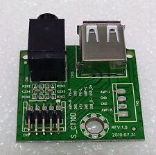 S-CT10D Pcb JACK USB TV BLUSENS H325B26A