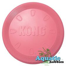 Kong Flyer Puppy Natural Teething Rubber Toy For Dog Puppy Fetch Frisbee Disc