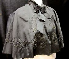Edwardian beaded cape, some damage but lovely!