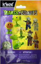 K'NEX MUMMY ZOMBIE Plants vs. Zombies Series 1 (New In Bag) RARE
